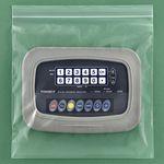 Custom Zip-lock Unprinted Clear Bags 2 Mil. 12