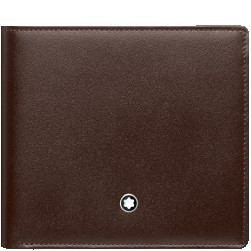 Montblanc Meisterstuck 4 CC Leather Wallet - Brown
