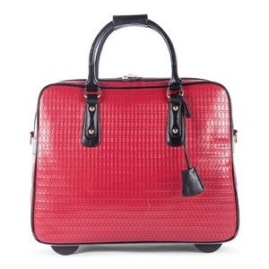 Ladies Bugatti Business Bag On Wheels