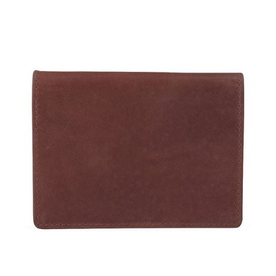 Bugatti Volo Brown Leather Card Case