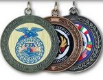Custom Stock Insert Medal (1 3/4