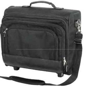 Premium Rolling Laptop Case w/ Detachable Strap