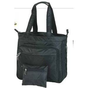 Lady's Expandable Compu-Tote Bag (Blank)