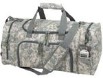 Custom Digital Camouflage Duffle Bag (Blank)