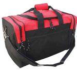 Custom Duffle Bag w/ U Shape Main Compartment (Blank)