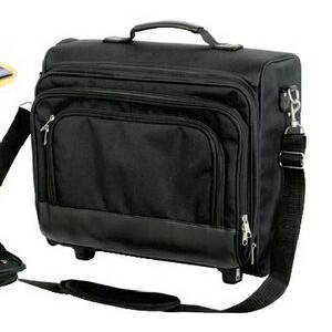 Premium Rolling Laptop Case w/ Detachable Strap (Blank)