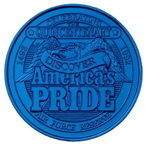 "Colored - Anodized Aluminum Coin/Medallion (0.984"")"
