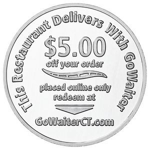 Aluminum Coin - Medallion (39mm)