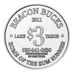 Custom Aluminum Coin - Medallion (1-1/8