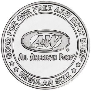 "Aluminum Coin - Medallion 1.25"", 1-1/4"""
