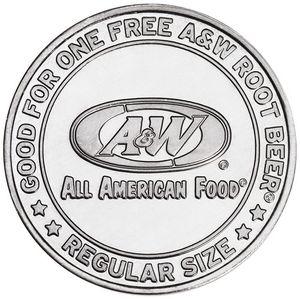 Aluminum Coin - Medallion (0.984)
