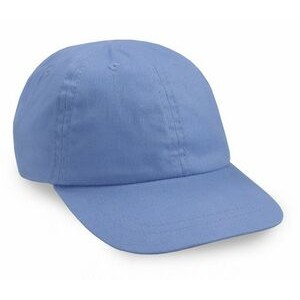 Toddler 6 Panel Brushed Cotton Twill Cap