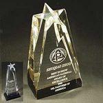 Custom Small Sculpted Star Award