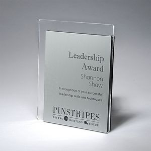 Pinstripe Plaque - Small