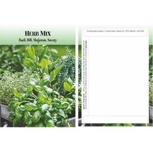 Standard Series Herb Mix Seed Packet - Digital Print /Packet Back Imprint