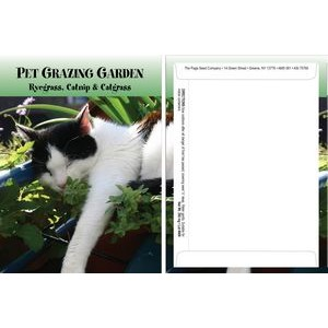 Standard Series Pet Grazing Garden Seed Packet - Digital Print /Packet Back Imprint