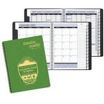 Custom Executive Monthly Planner w/ Shimmer Cover