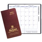 Custom Monthly Pocket Planner w/ Illusion Cover - Upright Format