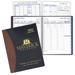 Custom Time Management Planner w/ Carriage Vinyl Cover