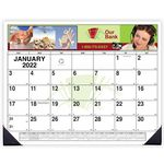 Custom Custom 4 Color Desk Pad Calendar