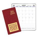 Custom Academic Monthly Pocket Planner w/ Cobblestone Cover