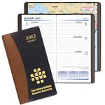 Custom Carriage Weekly Pocket Planner-Carriage