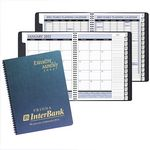 Custom Executive Monthly Planner w/ Illusion Cover