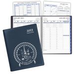 Custom TimeMaster Time Management Planner w/ Continental Vinyl Cover