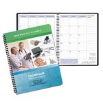 Custom Monthly Appointment Planner Full Color Digital Custom Cover