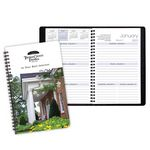 Custom Wire Bound Weekly Appointment Planner