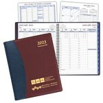 Custom TimeMaster Time Management Planner w/ Carriage Vinyl Cover