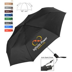 Executive Automatic Open / Close Mini Folding Umbrella