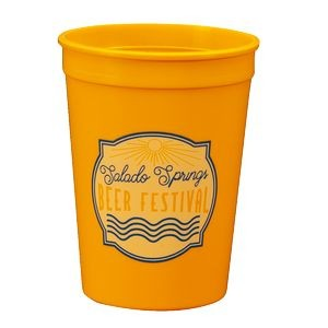 12 Oz. Smooth Stadium Cup