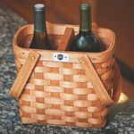 Custom Deluxe Beverage Carrier Basket