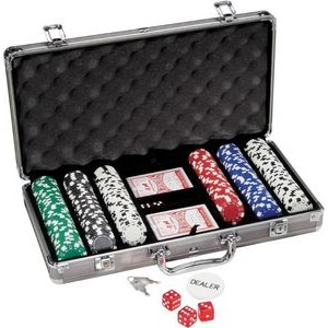 300 Piece Titanium Poker Set