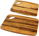 Custom Grove Bamboo Cutting Board Set