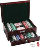 Custom 500 Pc Executive Poker Set