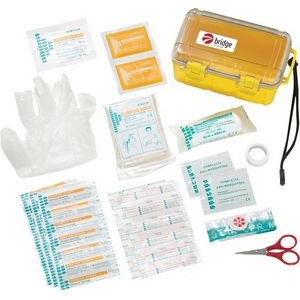 37 Pc Waterproof First Aid Box