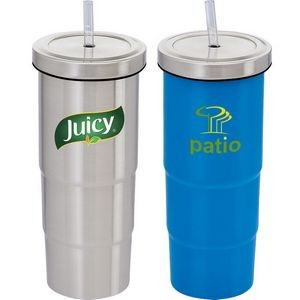 Urban Peak� 25 oz Marina Vacuum Tumbler and Straw