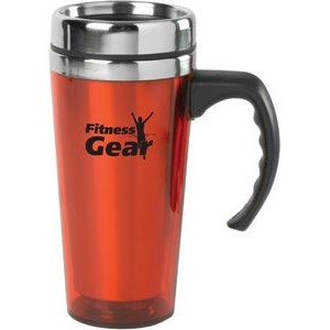 15oz Color Stainless Steel Travel Mug