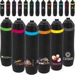 Custom 20 oz Persona Wave Vacuum Water Bottle
