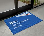 Custom Custom Rubberized Vinyl Door Mat (15