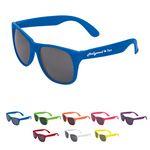 Custom Single Tone Matte Sunglasses