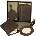 Custom Leeman Woodbury Scorecard/Round Golf Tag Gift Set