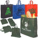 Custom Eco-Green Reusable Shopper Bag
