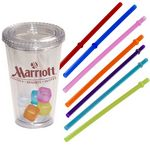 Custom Party Sturdy Sipper Tumbler & Ice Cubes Set