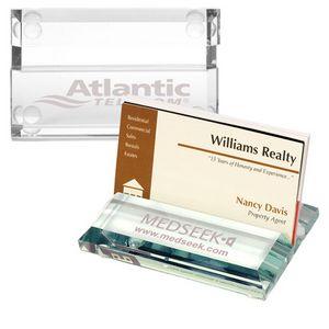 Atrium Glass Business Card Holder