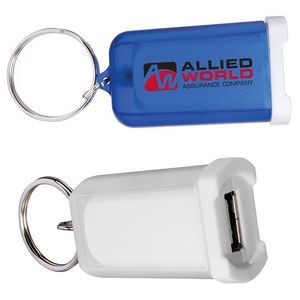 Mini Car Charger w/Key Ring