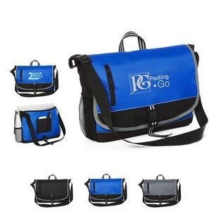 Cutting Edge Laptop Messenger Bag