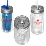Custom Cool Gear 16 oz. Mason Jar Water Bottle